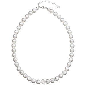 Perlový náhrdelník biely 32011.1