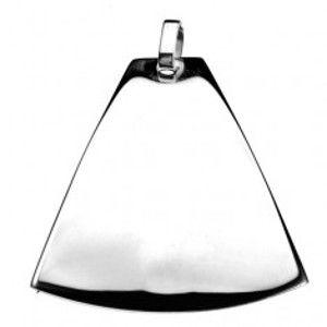 Šperky eshop - Prívesok z chirurgickej ocele - zaoblený zvon Y21.8